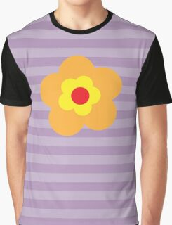 Flowers, Blossoms, Petals - Red Orange Yellow Graphic T-Shirt