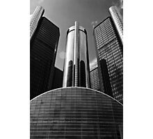 GM Renaissance Center Photographic Print