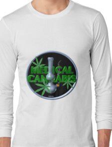 Medical Marijuana bong from Valxart.com  Long Sleeve T-Shirt