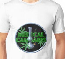 Medical Marijuana bong from Valxart.com  Unisex T-Shirt