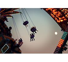 Midway at Dusk Photographic Print