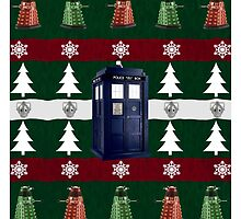 Ugly Christmas Police Box by fashionsforfans