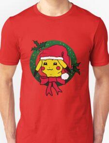Christmas Wreath Pikachu T-Shirt