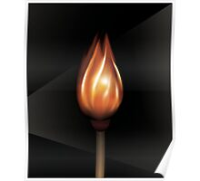 Matching Flame Poster