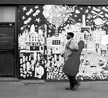 It's all so jazzy in Brick Lane by Chilla Palinkas