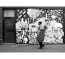 It's all so jazzy in Brick Lane Photographic Print