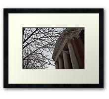 Harvard Yard Framed Print