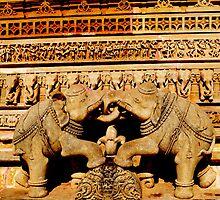 Sculpture by Jitesh Chauhan