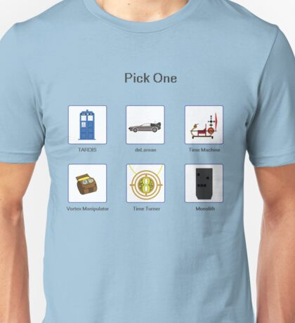 Pick Your Mode Unisex T-Shirt