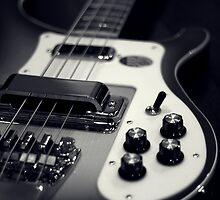 Rickenbacker Bass by Susan Drysdale