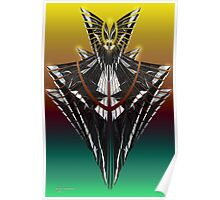 Winged Form Poster