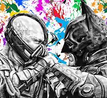 Bane vs. batman - the dark knight rises by American Artist