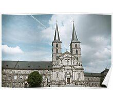 Michaelsberg Abbey in Bamberg Poster