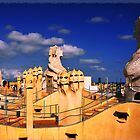 Roof of 'La Padrera' building by amira