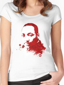 Martin Luther King, Jr. Women's Fitted Scoop T-Shirt