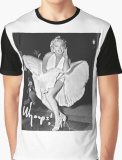 Marilyn Monroe Print Graphic T-Shirt