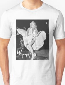 Marilyn Monroe Print Unisex T-Shirt