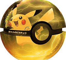 Pikachu | Pokeball by SALSAMAN