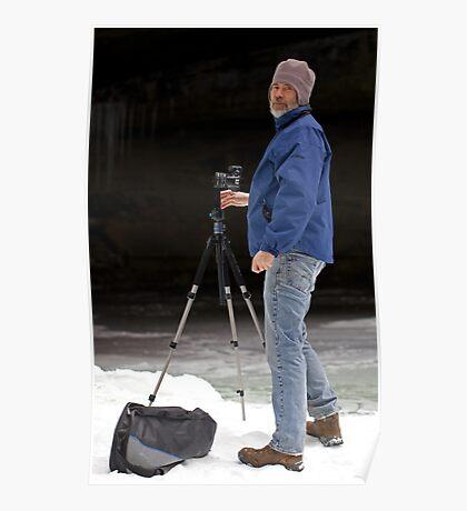 Ice Photographer Poster