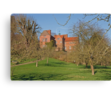 Chartwell in Westerham Kent, The home of Sir Winston Churchill Canvas Print