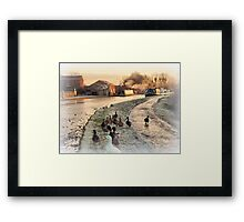 The Following. Framed Print