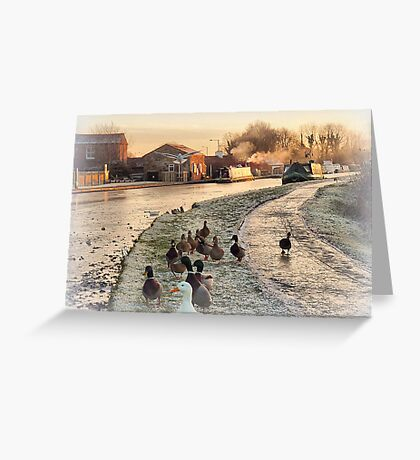 The Following. Greeting Card