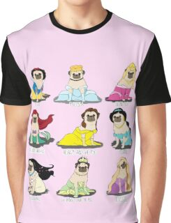 Pug Princesses Graphic T-Shirt