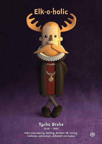 Tycho Brahe - Elk-o-holic by chayground