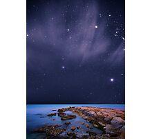 Landscape Stars Photographic Print