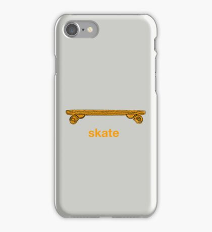skate iPhone Case/Skin