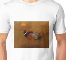 Pheasant in acrylic Unisex T-Shirt