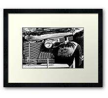 Cadillac front end 1040 Framed Print