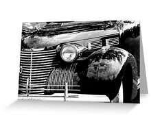 Cadillac front end 1040 Greeting Card