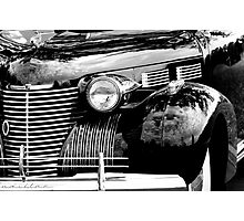 Cadillac front end 1040 Photographic Print