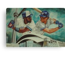 Carter and Alomar Canvas Print