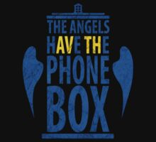 The angels have the phone box by Lith1um