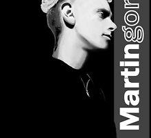 Martin Gore 1990 by Luc Lambert