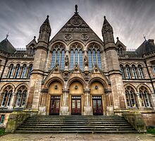 Nottingham University - Arkwright Building by Yhun Suarez