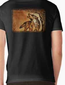 FENRIR Wolf Mens V-Neck T-Shirt