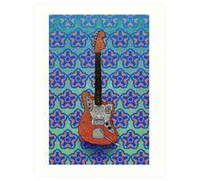 Fender Jaguar Art Print