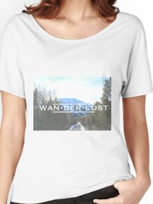 Snowy Trail Women's Relaxed Fit T-Shirt