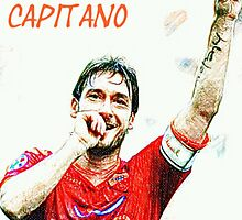 "Francesco Totti ""IL Capitano"" ROMA by DABC"