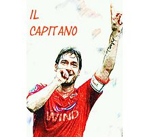 "Francesco Totti ""IL Capitano"" ROMA Photographic Print"