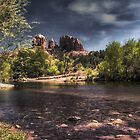 """Oak Creek / Cathedral Rock"" by Bob Adams"