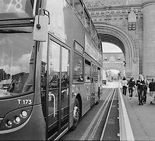Tower Bridge Traffic by Max Kalinowicz