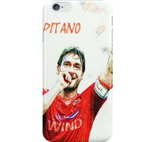 "Francesco Totti ""IL Capitano"" ROMA iPhone Case/Skin"