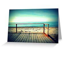 Sunny beach in a dream Greeting Card