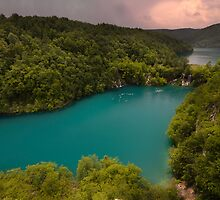 Plitvice Lakes National Park by Ivan  Prebeg
