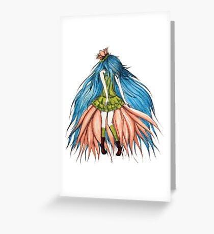 Lotusëia Greeting Card