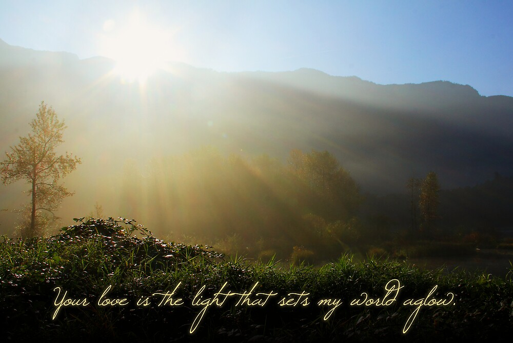 Your Love is the Light... (Card) by Tracy Friesen